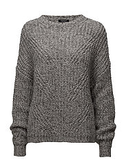 LS RN MILA SWEATER - NEW SILVER STONE