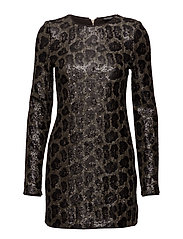 MINI DRESS - LEOPARD ANIMALIER