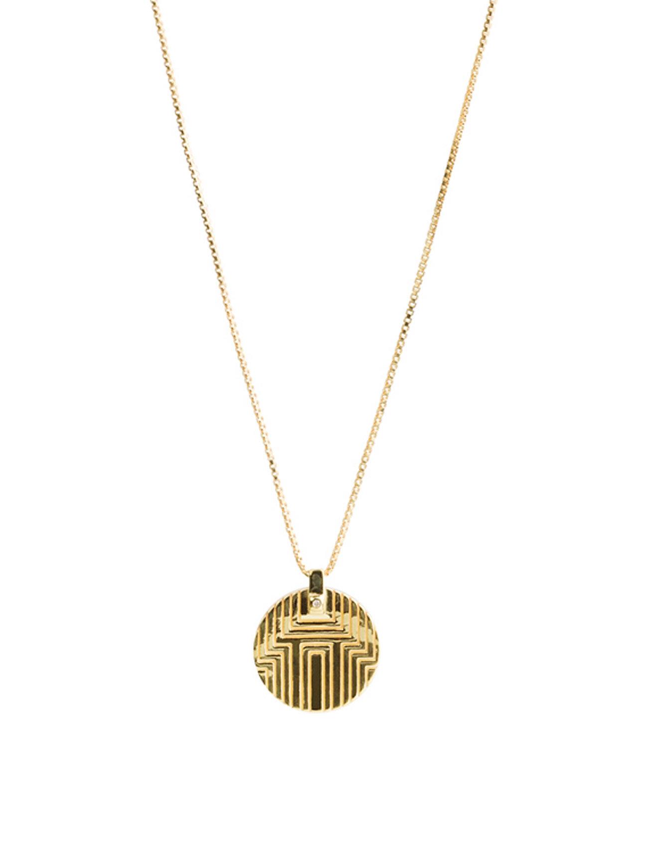 Boyo Diamond Necklace - 43 Cm Maria Black Smykker til Damer i