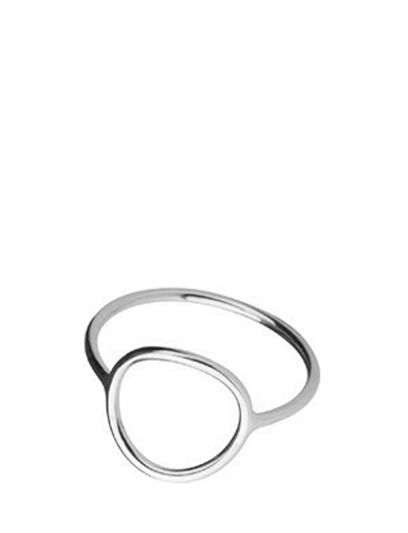 Monocle Ring - Medium Circle Maria Black Accessories til Kvinder i