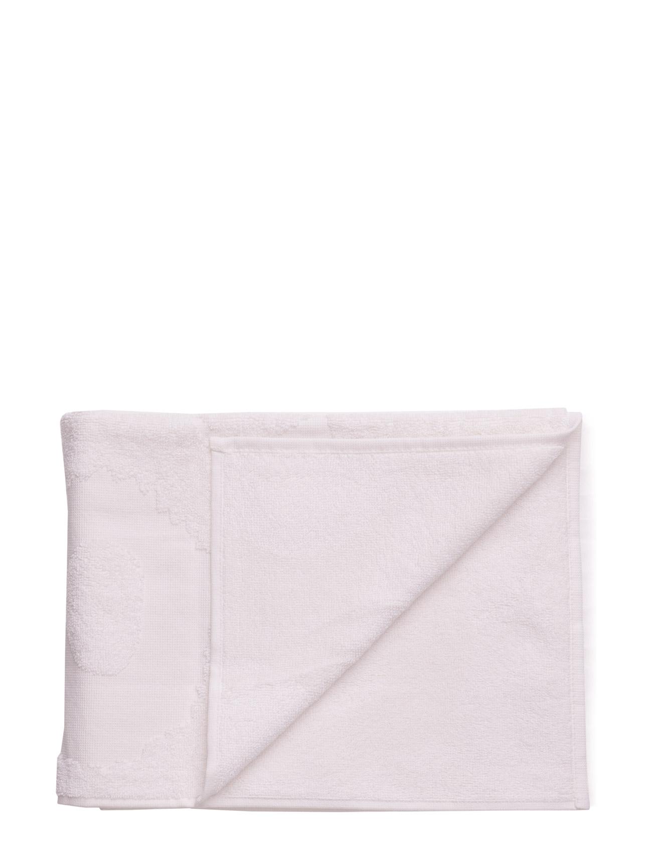 Unikko Solid Hand Towel 50x100 Marimekko Home Hjem til Herrer i hvid