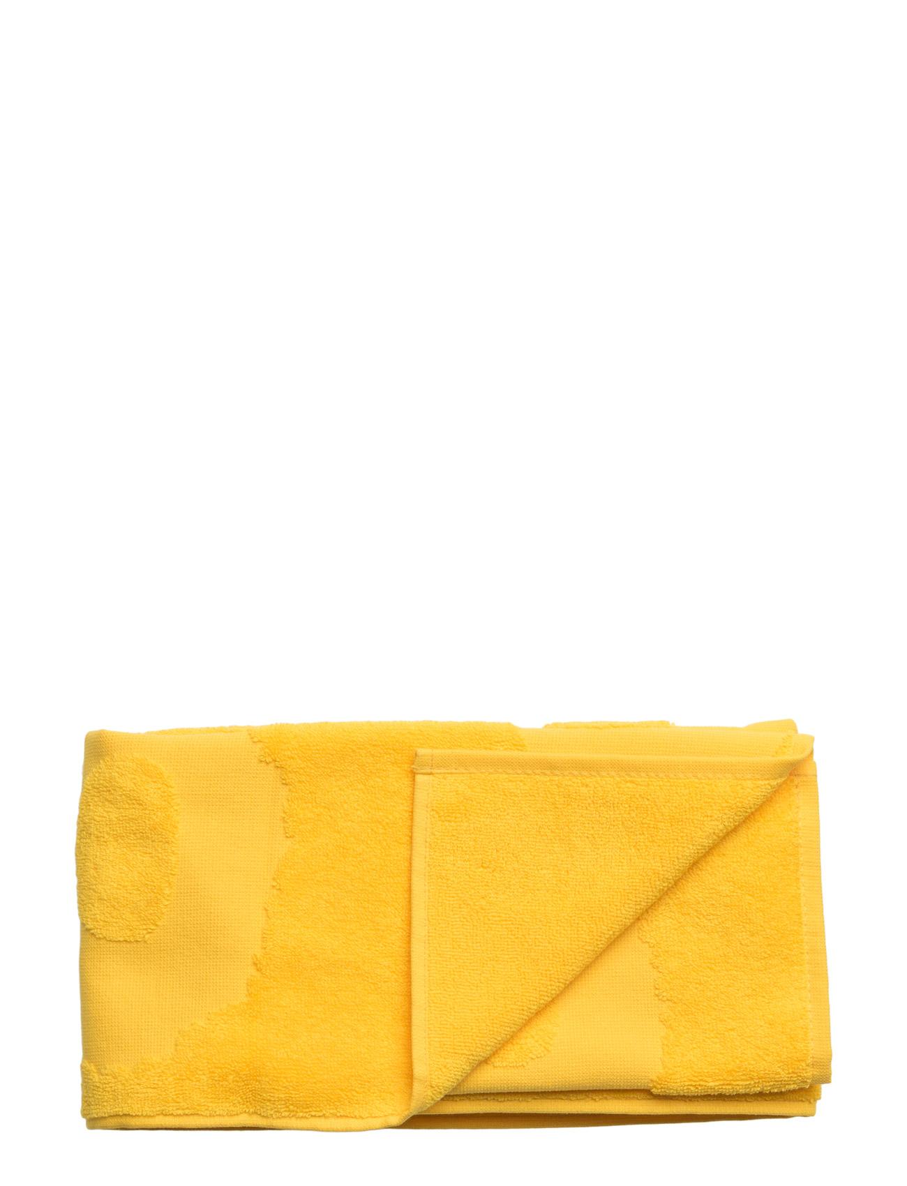 Unikko Solid Hand Towel 50x100 Marimekko Home Hjem til Herrer i Gul