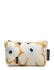 EENA MINI UNIKKO Cosmetic bag - BEIGE,OFF WHITE,BLUE