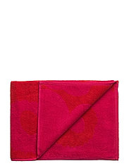 UNIKKO HAND TOWEL - RED, FUCHSIA