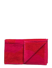 UNIKKO GUEST TOWEL - RED, FUCHSIA