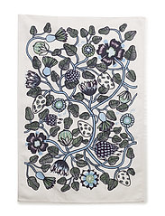 PIENI TIARA TEA TOWEL - WHITE, BLUE, VIOLET
