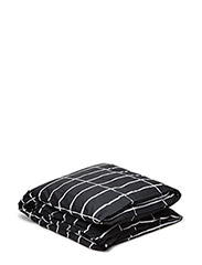 TIILISKIVI DUVET COVER - BLACK, WHITE