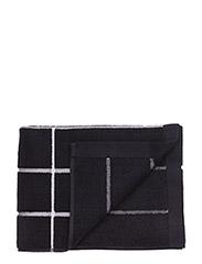 TIILISKIVI HAND TOWEL - BLACK, WHITE