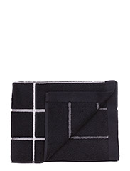 TIILISKIVI GUEST TOWEL - BLACK, WHITE