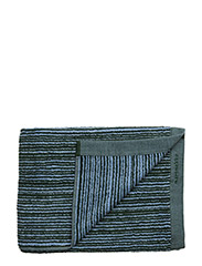 VARVUNRAITA BATH TOWEL - LIGHT BLUE, DARK GREEN