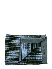 VARVUNRAITA HAND TOWEL - LIGHT BLUE, DARK GREEN