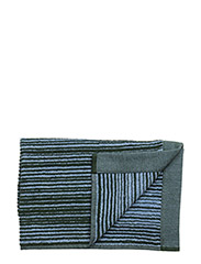 VARVUNRAITA GUEST TOWEL - LIGHT BLUE, DARK GREEN