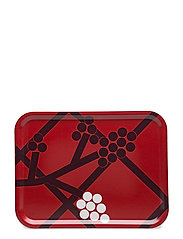 HORTENSIE P/TRAY - RED, PLUM, WHITE