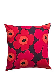 PIENI UNIKKO CUSHION COVER - BLOM, RED,ORANGE, DARK BLUE
