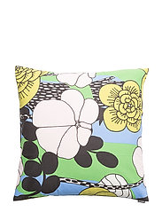 UNELMA CUSHION COVER - BLUE, PINK, GREEN