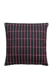P.TIILISKIVI CUSHION COVER - PINK, DARK BLUE
