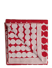 RÄSYMATTO BATH TOWEL - WHITE, RED