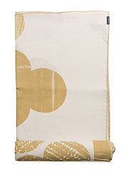 PUU INTERIOR CLOTH - NATURAL WHITE, GOLD/STRAW