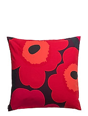 UNIKKO CUSHION COVER - PLUM,RED,ORANGE,DARK BLUE