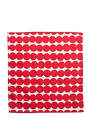RÄSYMATTO TEA TOWEL/NAPKIN - WHITE, RED