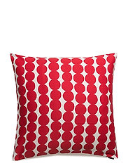 RÄSYMATTO CUSHION COVER - WHITE, RED