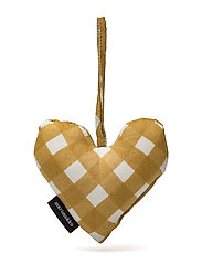 OKKO CHRISTMAS HEART - NATURAL WHITE, BEIGE