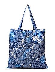 MYNSTERI BAG - WHITE, BLUE