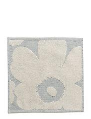 UNIKKO JACQ. MINI TOWEL - OFF-WHITE, BLUE