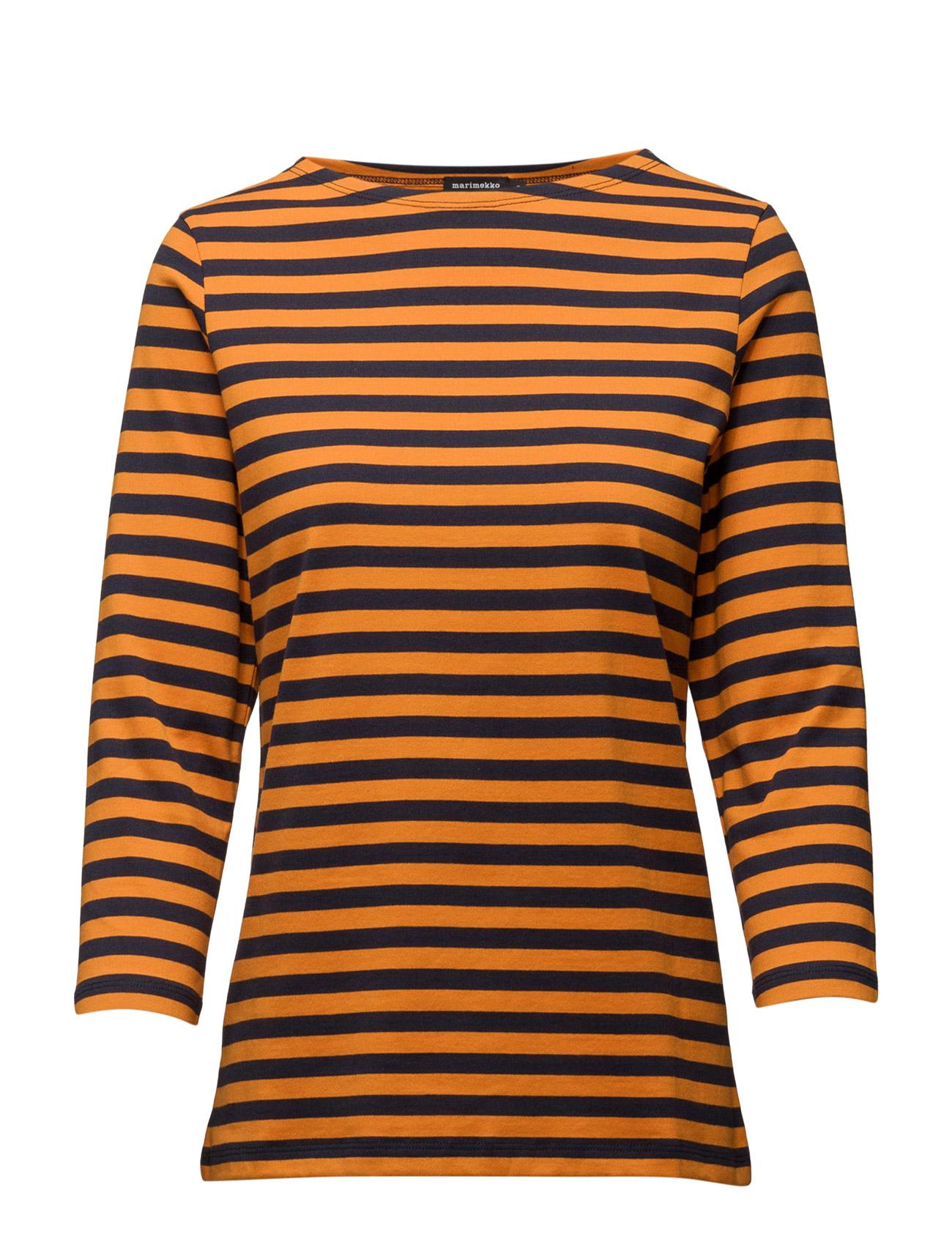 Ilma 2017 Marimekko T-shirts & toppe til Kvinder i Orange Mørkeblå