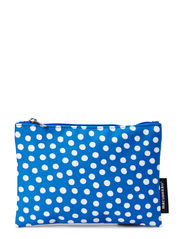 Pouch - blue, white