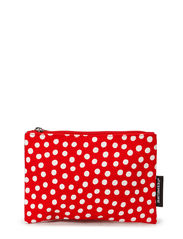 Pouch - red, white