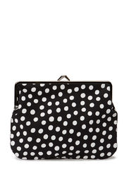 Purse - black, white