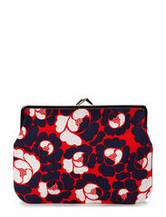 Purse - red, blue, white