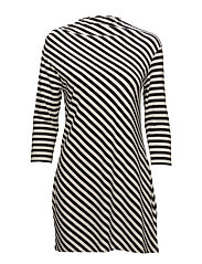 MARGAR Tunic - OFF WHITE, BLACK
