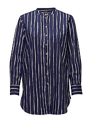 IINA RÄKKY Tunic - DARK BLUE, OFF-WHITE