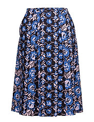 HILAMA ORVO Skirt - BLUE, PINK