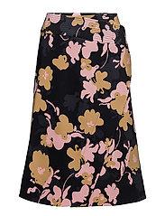 OKTAVA Skirt - BLACK, MUSTARD, PINK