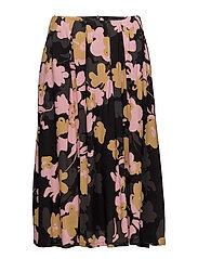 NEOMA HELOKKI Skirt - BLACK, MUSTARD, PINK