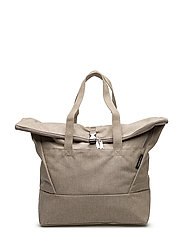 KORTTELI SHOPPER Shoulder-bag - MELANGE BEIGE