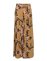 LICI Trousers - BROWN, PINK, GREEN