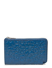 NILLA Wallet, leather - BLUE