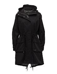 NIINE Coat - BLACK