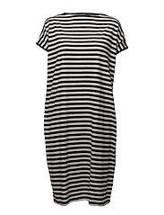 HAAPA TASARAITA Dress - SOFT BLACK, OFF WHITE