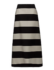 TYKKY GALLERIA Skirt - OFF-WHITE, BLACK