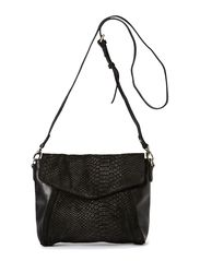 Kalua Crossbody Bag, Snake - Black