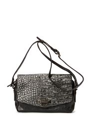 Verona Bag, Metallic Croco - Silver
