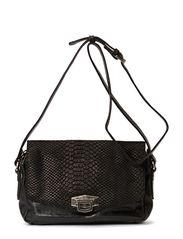 Verona Bag, Snake - Black