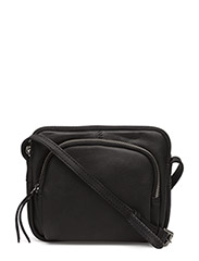 Amira Crossbody Bag, Butter - Black