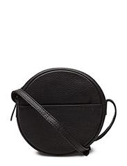 Anine Crossbody Bag, Grain - BLACK