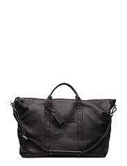 Isa Travel Bag, Grain - BLACK